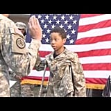 The Boy Who Become a Soldier