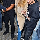 Zayn Malik Is the Cutest Protective Boyfriend While Leading Gigi Hadid Through a Crowd of Fans
