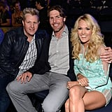 Carrie Underwood and Mike Fisher at the CMT Awards.