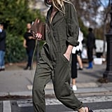 Wear a Utility Jumpsuit With Nothing but a Pair of Heels