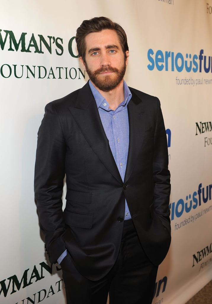 Jake Gyllenhaal looked laid-back and handsome in NYC at the Lincoln Center.
