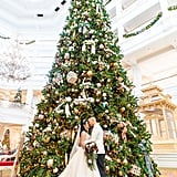 Nonica and Jeremy's Christmas Eve Walt Disney World Wedding