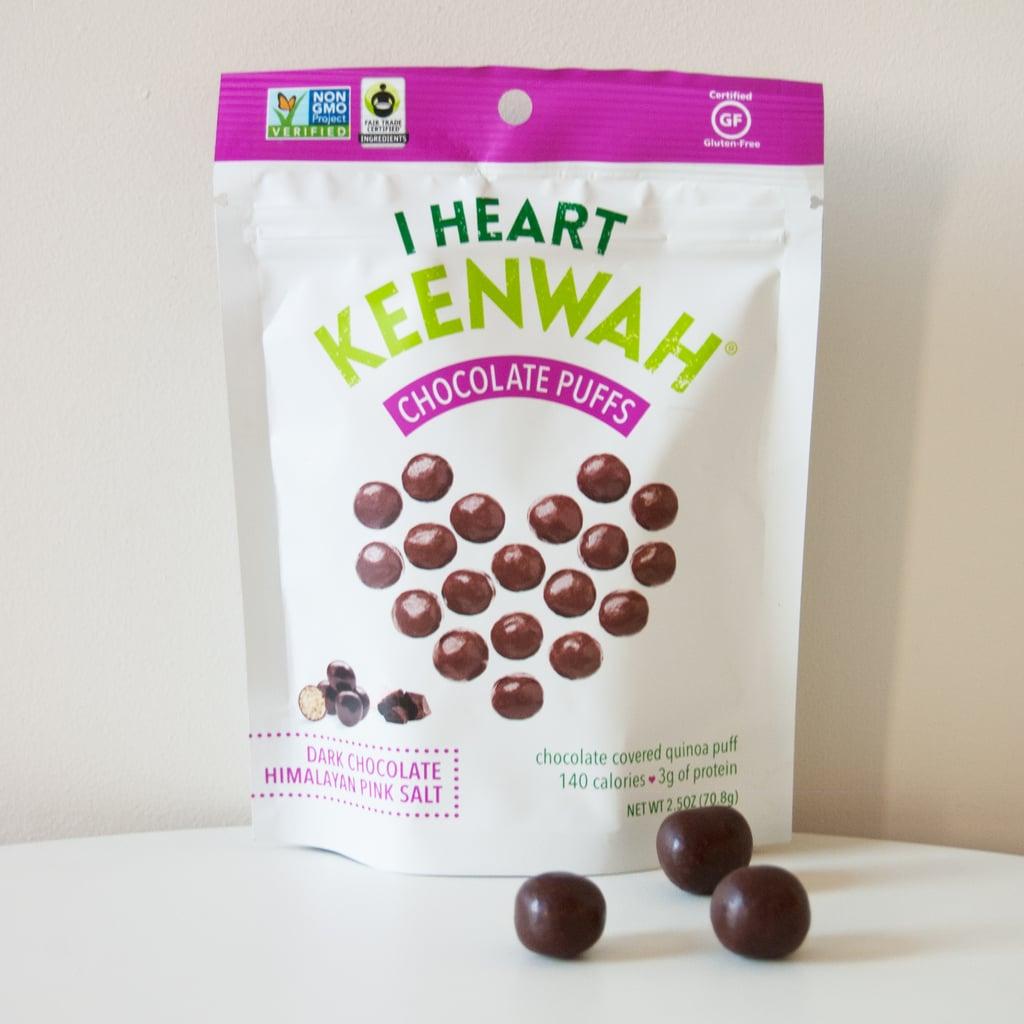 I Heart Keenwah Chocolate Puffs: Dark Chocolate Himalayan Pink Salt