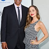 Rick Fox and Eliza Dushku