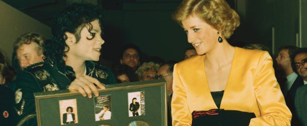 Princess Diana at Michael Jackson's London Concert 1988