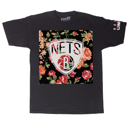 Neff NBA Floral-Print T-Shirts