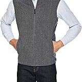 Amazon Essentials Men's Full-Zip Polar Fleece Vest