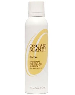 Product Review: Oscar Blandi Lacca Hairspray