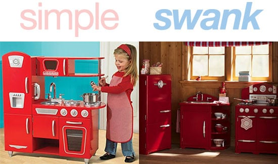 simple or swank red retro kitchen  popsugar moms, Kitchen design