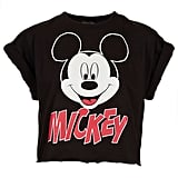 This Topshop Mickey Crop Top  ($32) is a nod to your inner '90s child — that also happens to be  oh so on-trend.