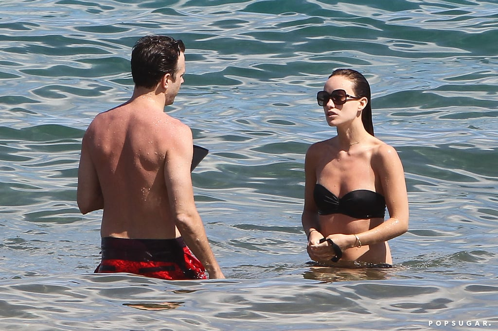 Olivia Wilde Bikini Pictures in Hawaii With Jason Sudeikis