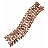 Eddie Borgo Rose Gold-Plated Cone and Chain Bracelet, $325