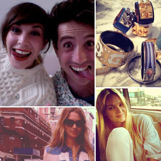 Candid Celebrity Photos From Twitter And Facebook From Alexa Chung, Jennifer Hawkins And More