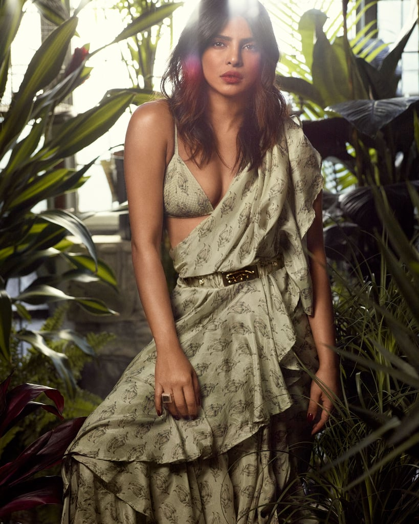 Priyanka Chopra Wearing Sari on InStyle Cover July 2019