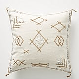 Joanna Gaines For Anthropologie Embroidered Sadie Pillow in White