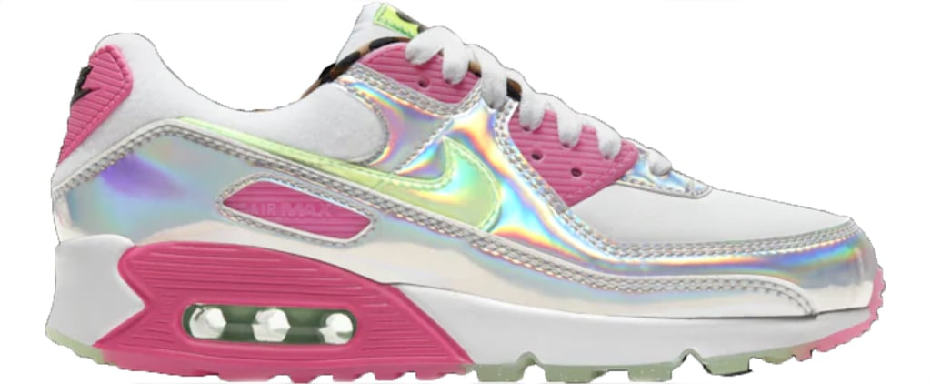 Nike's Iridescent Air Max 90 LX Sneakers Are So Futuristic