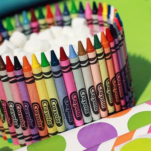 Creative And Easy Crafts With Crayons Popsugar Family