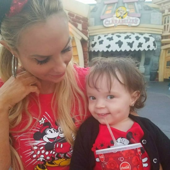 Coco Austin and Chanel at Disneyland Pictures August 2017