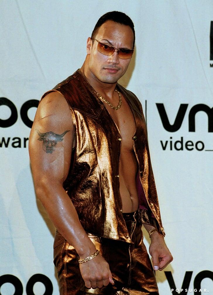 Dwayne Johnson Through The Years Popsugar Celebrity