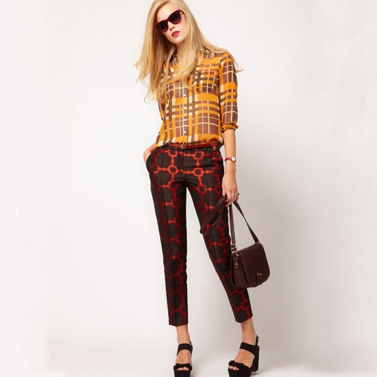 Best Brocade Pants For Fall 2012