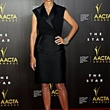 Rachel Griffiths picked a simple LBD.