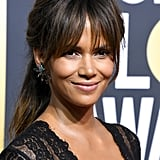 Halle Berry Hair and Makeup Golden Globes 2018