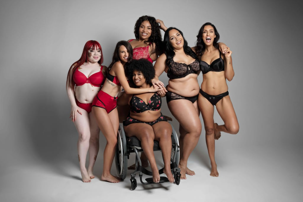 "This Empowering Lingerie Photo Series Redefines What It Means to Have a ""Perfect Figure"""