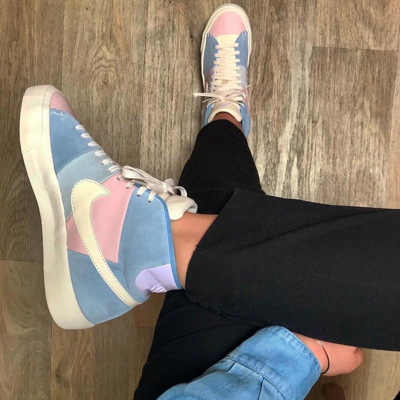 Colorblock Sneakers Trend   POPSUGAR