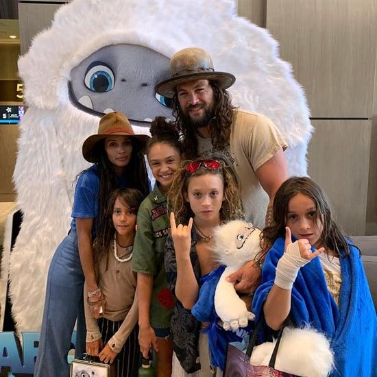 Jason Momoa and Lisa Bonet Took Their Kids to Abominable