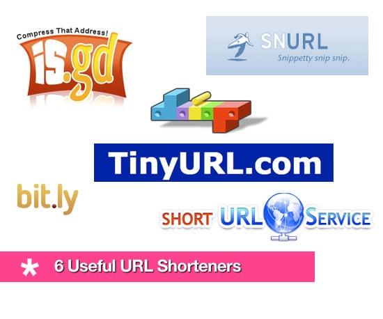 6 Useful URL Shorteners