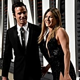 Jennifer Aniston and Justin Theroux 2017 Oscars Afterparty