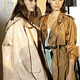 Kaia Posed Backstage With Kendall Jenner in Some Bottega Veneta Outerwear