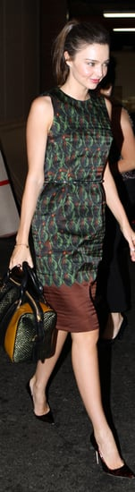 Miranda Kerr Leaf Dress Two-Tone Bag