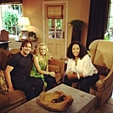 Oprah hung out at Carrie Underwood and Mike Fisher's house in Nashville.  Source: Instagram user oprahwinfrey