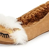 Kate Spade New York Salena Fox-Face Sequin Slipper, Honey ($98)