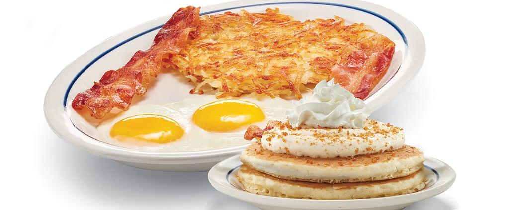 IHOP Is Now Offering Crème Brûlée Pancakes