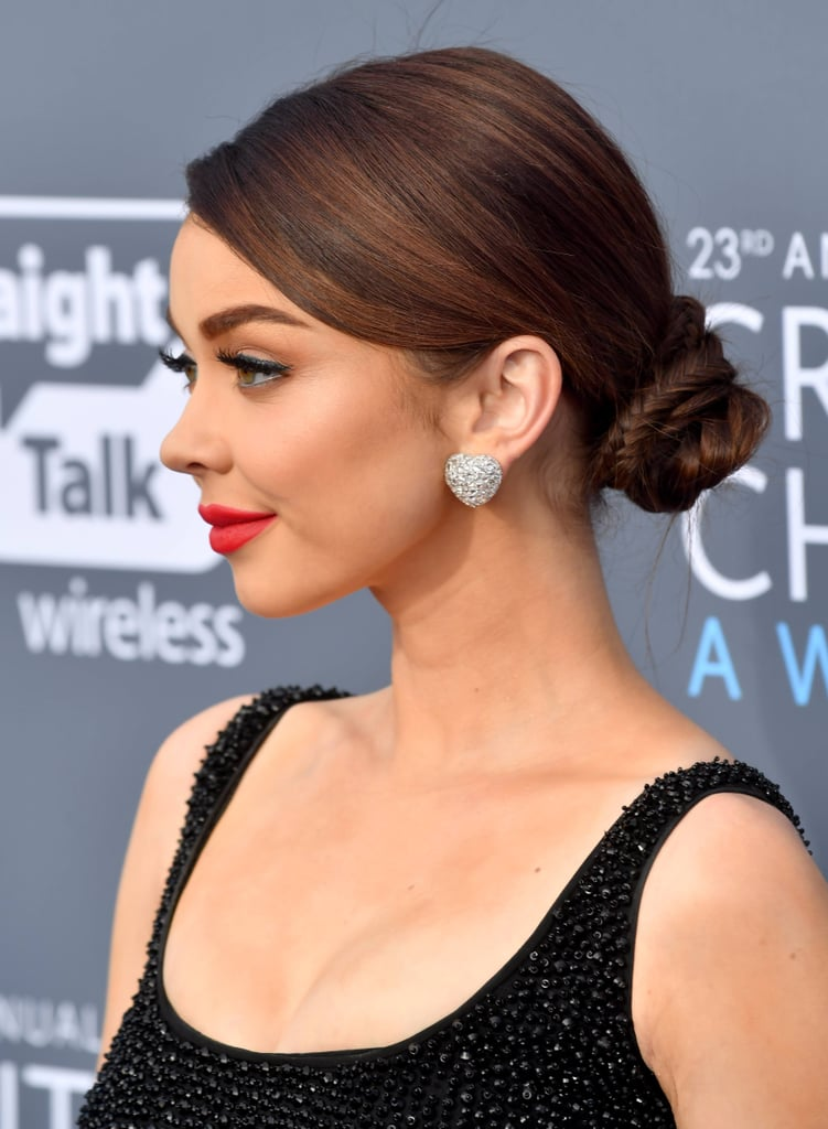 Genoeg Sarah Hyland's Hair at the 2018 Critics' Choice Awards | POPSUGAR  BH05