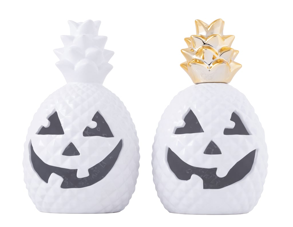 HomeGoods Pineapple Jack-O'-Lanterns