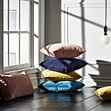 Rivet Velvet Texture Striated Pillow