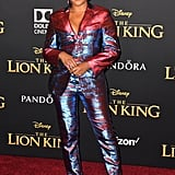 Pictured: Tiffany Haddish at The Lion King premiere in Hollywood.