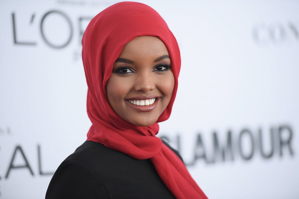 Halima Aden Stuns in a Hijab and Burkini While Making History in Sports Illustrated's Swim Issue