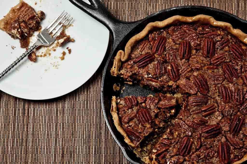 When you're not feeling fruity, this recipe for vegan pecan pie will do the trick. It takes less than two hours from start to finish, and no one will ever guess it's dairy-free! Source: Flickr user nightmare