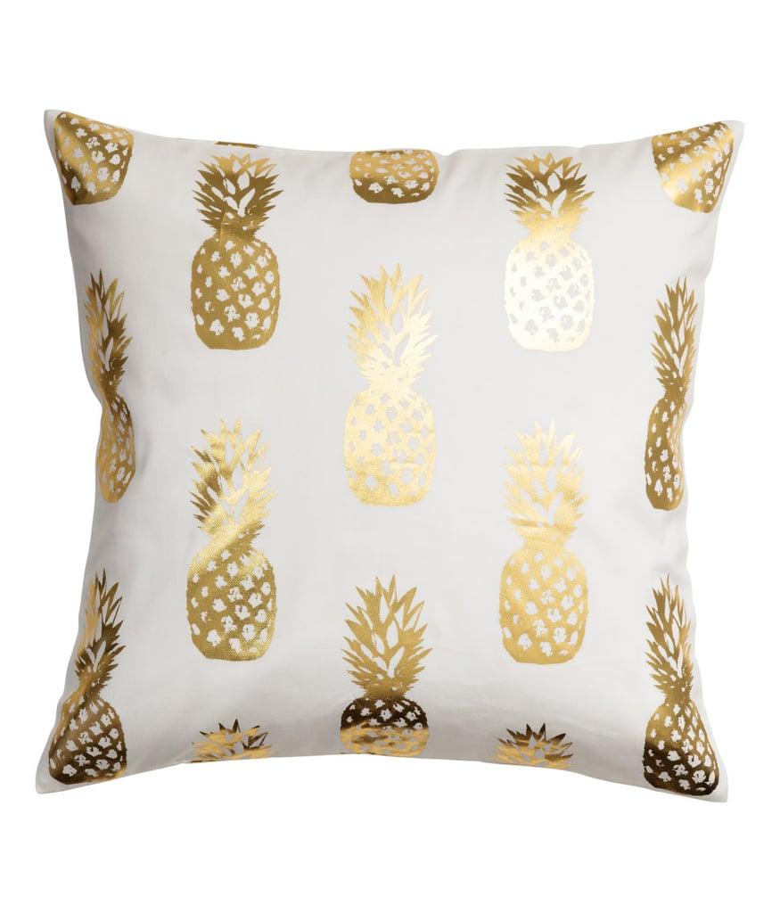 H&M Pineapple-Print Cushion Cover