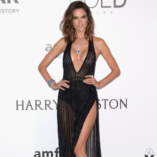Alessandra Ambrosio at amfAR Gala in Cannes 2016