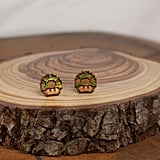 1 UP Mushroom Earrings ($10)