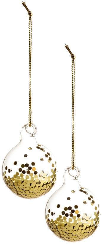2-Pack Christmas Ornaments ($6)