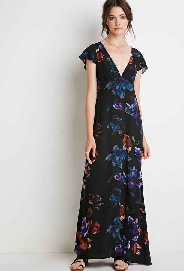 Forever 21 Floral Print Maxi Dress ($28)