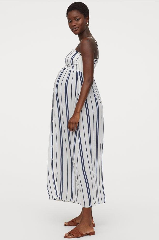 ff7f4226b80ca H&M Mama Smocked Dress | Best Lightweight Maternity Dresses 2019 ...