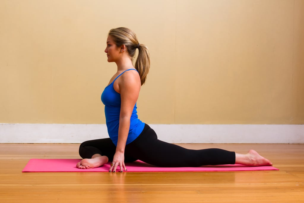 Pigeon Pose Restorative Yoga Sequence Popsugar Fitness