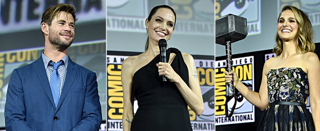 Celebrities at Marvel San Diego Comic-Con Panel Photos 2019